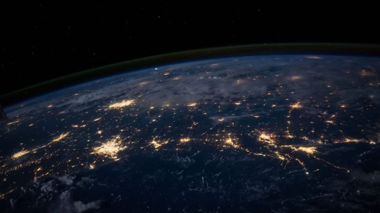 Urban lighting and the extent of polluting light spill is clearly visible from space. Photo: NASA