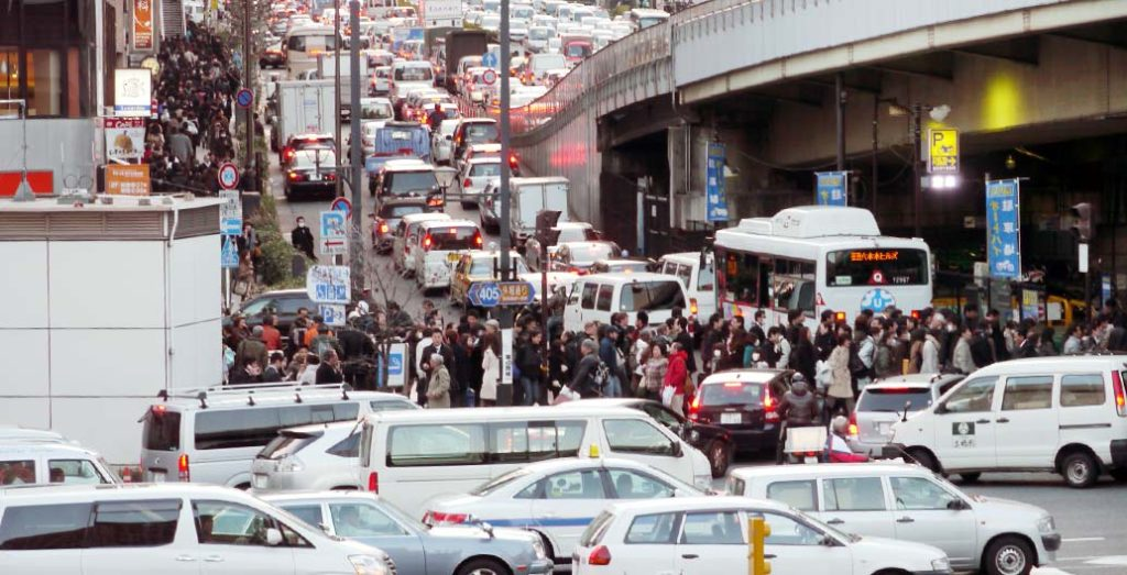 Traffic jams and congestion are a well-known outcome of poor political decisions to focus on transport mobility over urban accessibility.