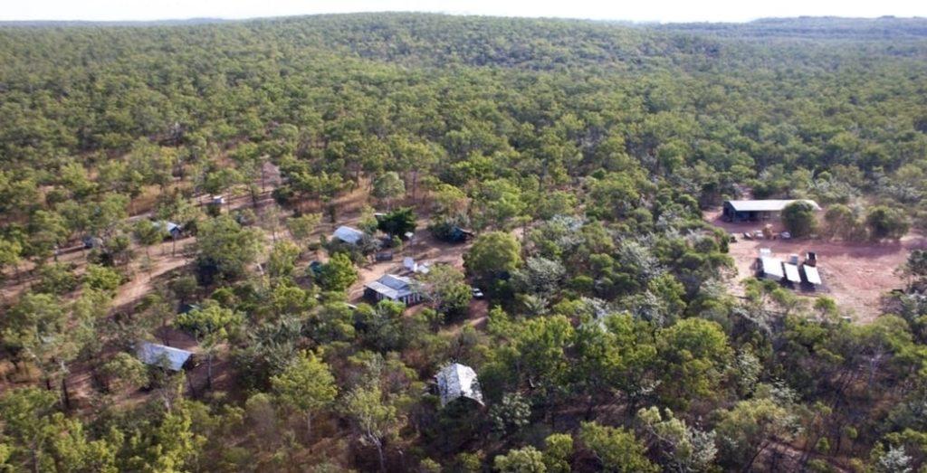 Kabulwarnamyo outstation is a remote settlement of about 50 people on Nawarddeken Country in West Arnhem Land, Northern Territory. Photo: Hannah Robertson