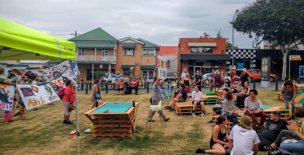 Tactical urbanism: the community activating a future park space