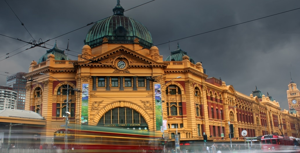 Flinders Street Station in Melbourne constructed 1902-1910 listed on the Victorian Heritage Register has undergone numerous conservation works. Photo: Kieren Andrews