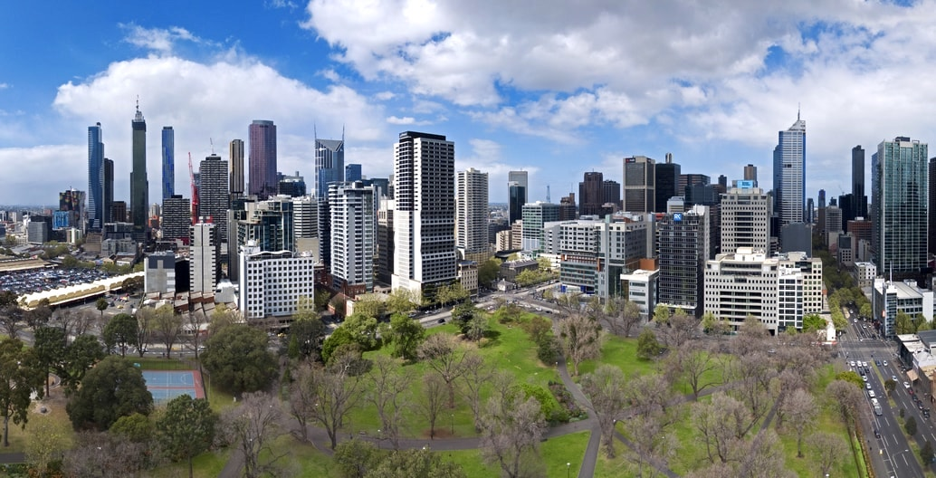 Like other cities, Melbourne is growing. How will its squares and parks continue to provide for a fast-changing population? Flagstaff Gardens is one of a series of 19th century parks at the edge of central Melbourne. Photo: Bob T