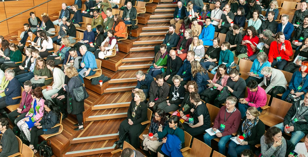 The Australian Institute of Landscape Architect's International Festival of Landscape Architecture – the square and the park – was held over two days in October to a capacity audience. Photo: David Hyde