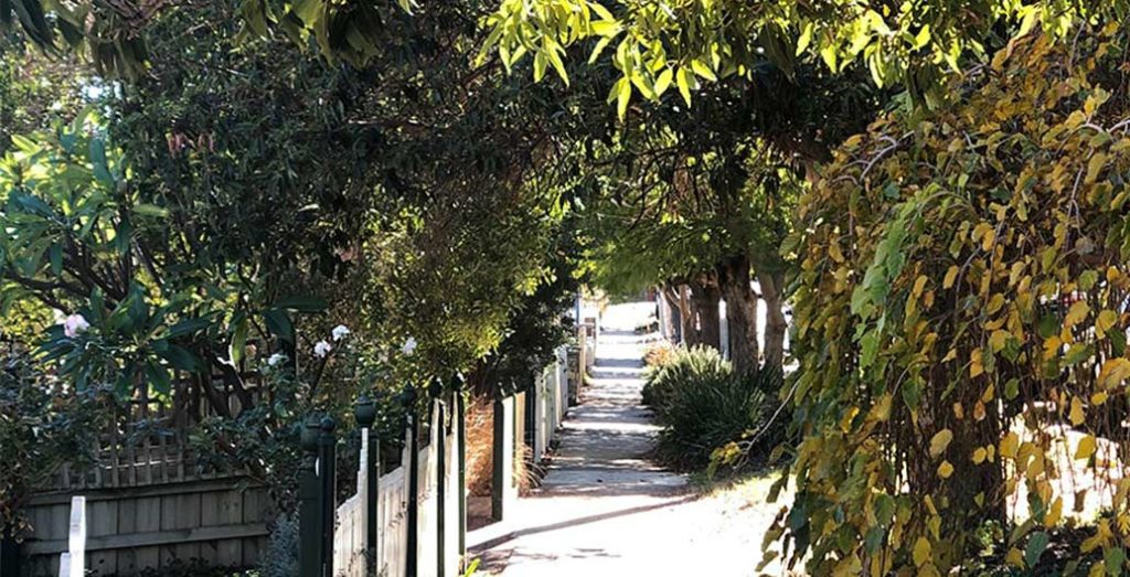 A residential street in Perth. Image: Zoe Myers