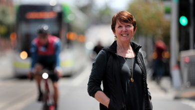 Professor Billie Giles-Corti advocates for healthy city design