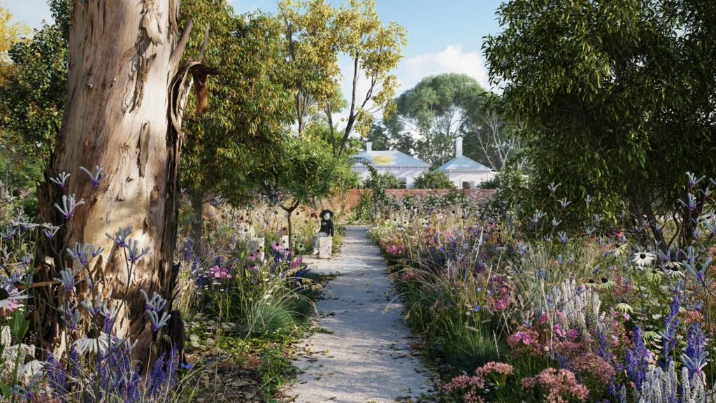 The healing garden at Heide will be a sanctuary of sensory wonder.