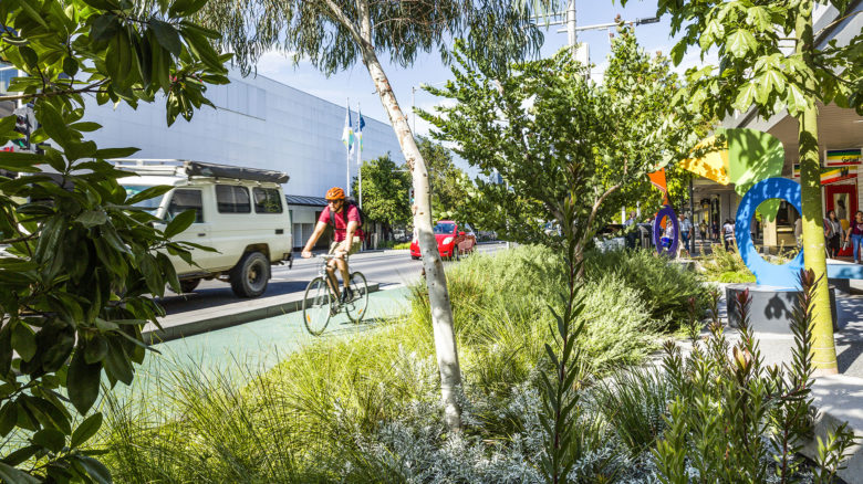 The project won a Landscape Architecture Award for Civic Landscape at the AILA Awards 2019. Image: Drew Echberg