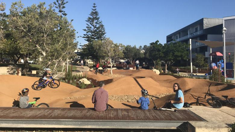 Barrow Park Play Space—Ecoscape Australia Pty Ltd. Image: Frank Kotai