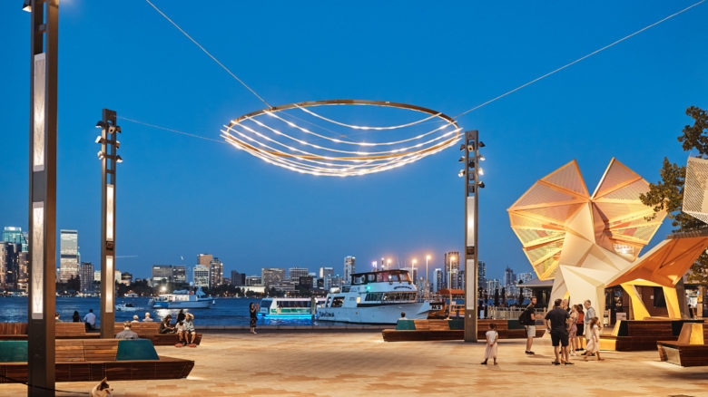 Mindeerup Piazza South Perth Foreshore—PLACE Laboratory. Image: Peter Bennetts