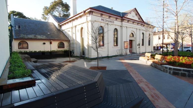 Brunswick Town Hall Precinct Streetscape Upgrade— Moreland City Council