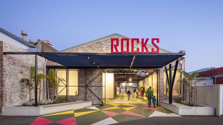 The Rocks Laneway—UDLA. Image: Josh Monagan
