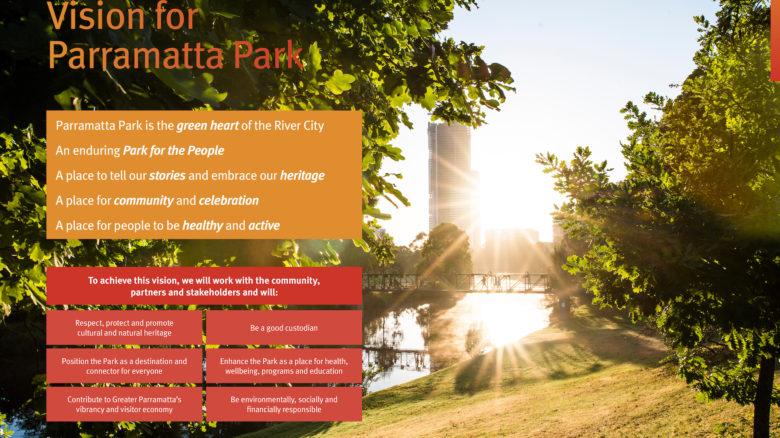 Your Parramatta Park 2030 - Conservation Management Plan and Plan of Management—Parramatta Park Trust