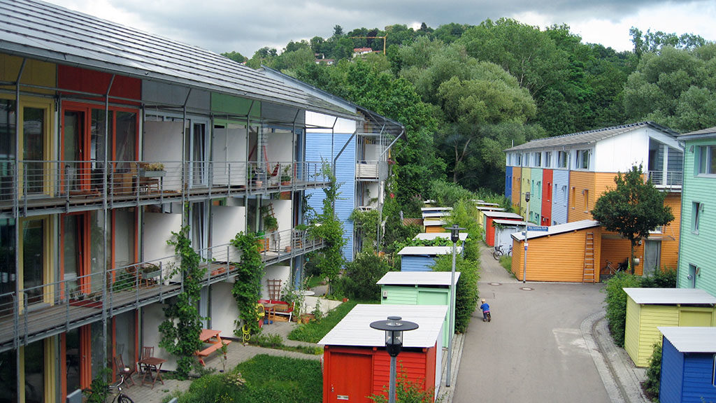 Vauban in Freigburg, Germany, is celebrated internationally as a 'green' neighbourhood. Image: Claire 7373